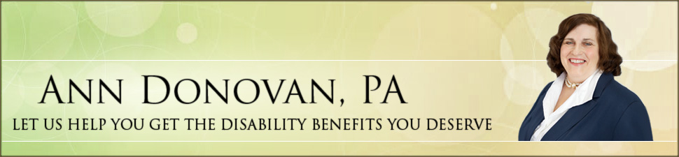 Ann Donovan, PA | NWA Social Security Advocate